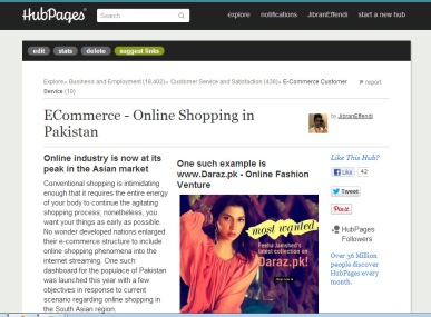 Pakistan's Online Fashion Retailer