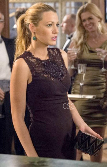 Blake Lively Lace Dress on Gossip Girl